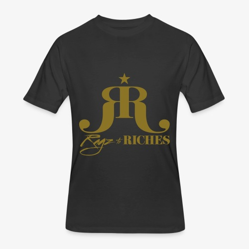 Ragz 2 Riches Movement Logo - Men's 50/50 T-Shirt