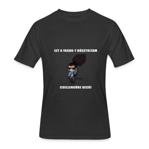 YASUOT CSELLENGŐBE BÚSZTOLÓS Póló - Men's 50/50 T-Shirt