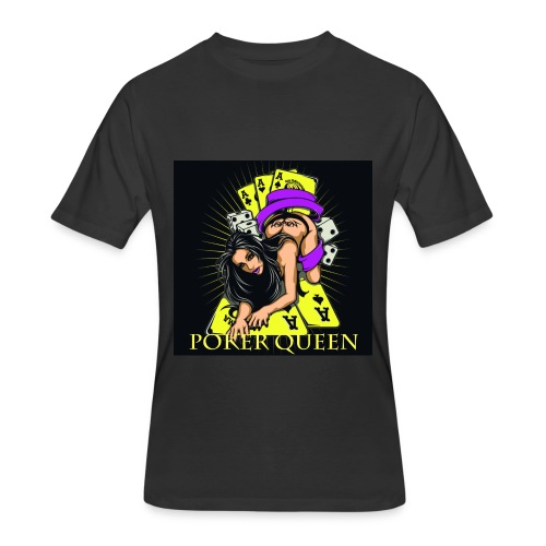 Poker Queen T-Shirt - Men's 50/50 T-Shirt