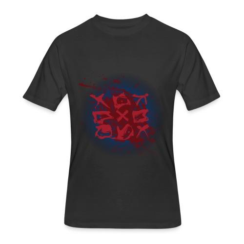 Tic Tac Toe - Men's 50/50 T-Shirt