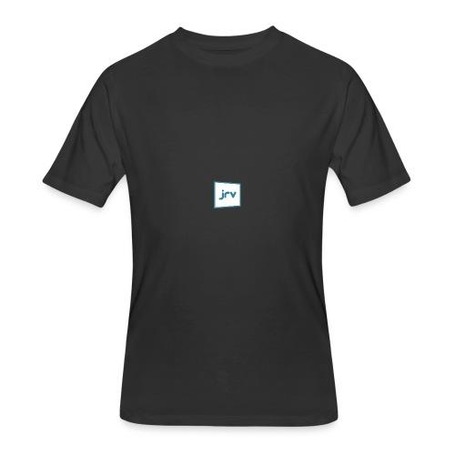 JRV logo - Men's 50/50 T-Shirt