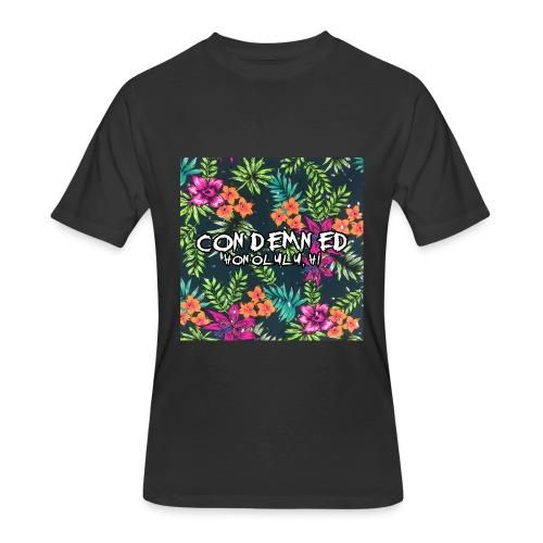 Floral Pattern - Men's 50/50 T-Shirt
