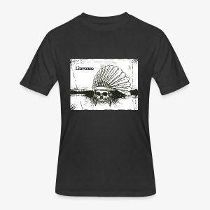 Indian Skull - Men's 50/50 T-Shirt