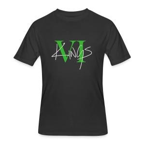 VI Kings Green/White - Men's 50/50 T-Shirt