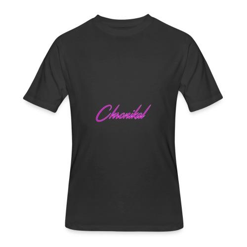 Pink Chronikal Signature - Men's 50/50 T-Shirt