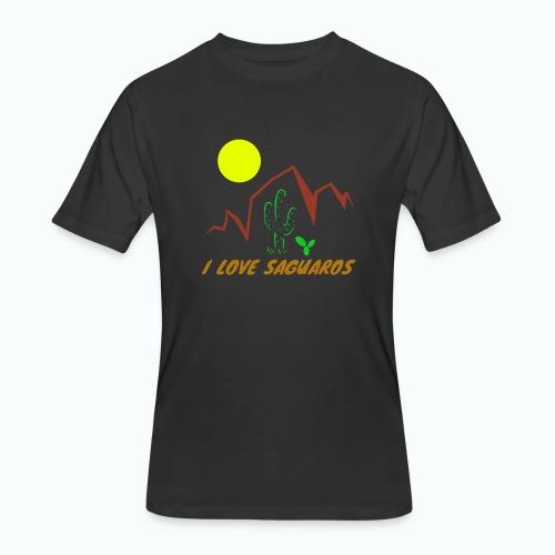 Saguaros 2 - Men's 50/50 T-Shirt