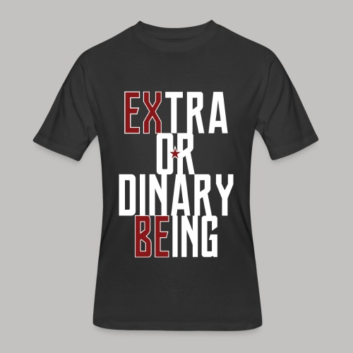 Extra Ordinary Being - Men's 50/50 T-Shirt