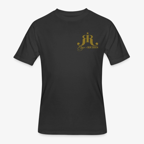 Ragz 2 Riches - Chest Logo - Men's 50/50 T-Shirt
