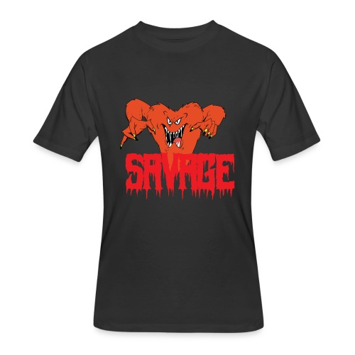 savage T shirt - Men's 50/50 T-Shirt