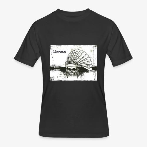 Indian Skull - Men's 50/50 T-Shirt