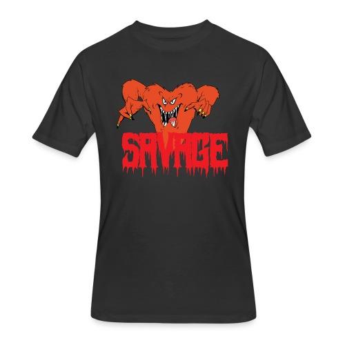 savage T shirt - Men's 50/50 T-Shirt
