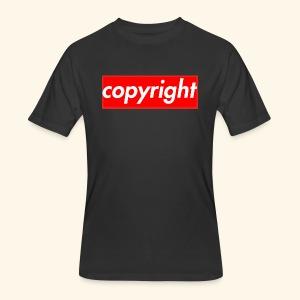 copyright - Men's 50/50 T-Shirt