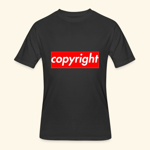 copyright - Men's 50/50 T-Shirt