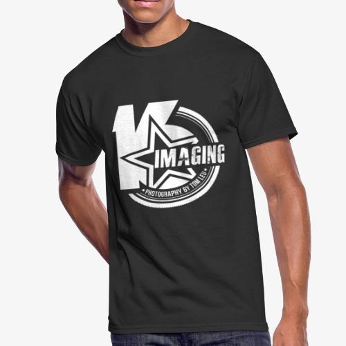 16 Badge White - Men's 50/50 T-Shirt