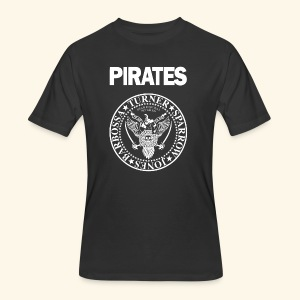 Punk Rock Pirates [heroes] - Men's 50/50 T-Shirt