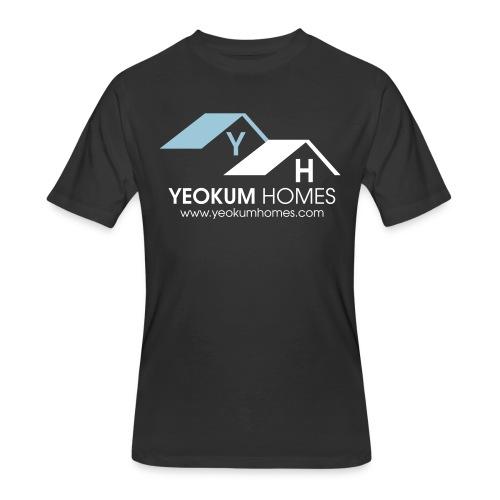 yeokum blue - Men's 50/50 T-Shirt