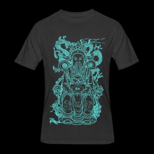 Wise Blue Monk - Men's 50/50 T-Shirt