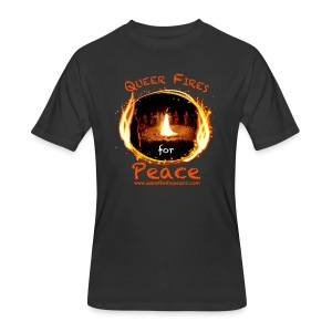 Queer Fires for Peace - Men's 50/50 T-Shirt