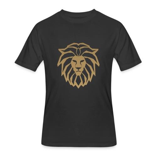 lion head gold - Men's 50/50 T-Shirt