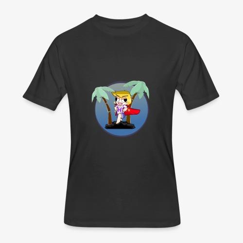 Hans on a vacation - Men's 50/50 T-Shirt