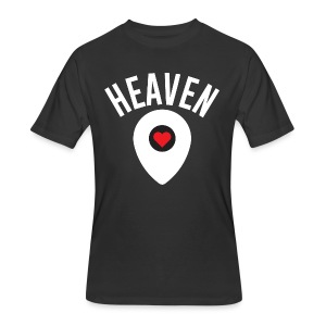 Heaven Is Right Here - Men's 50/50 T-Shirt