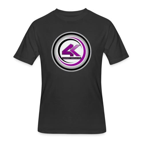 LOGO 4K1 1024x1024 - Men's 50/50 T-Shirt