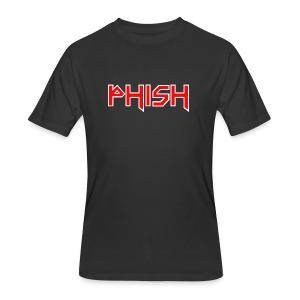 PHISH - Iron Maiden Font 2017 - Men's 50/50 T-Shirt