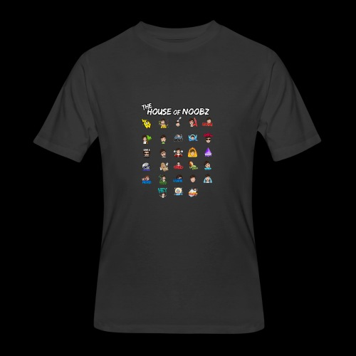 Emote List - Men's 50/50 T-Shirt