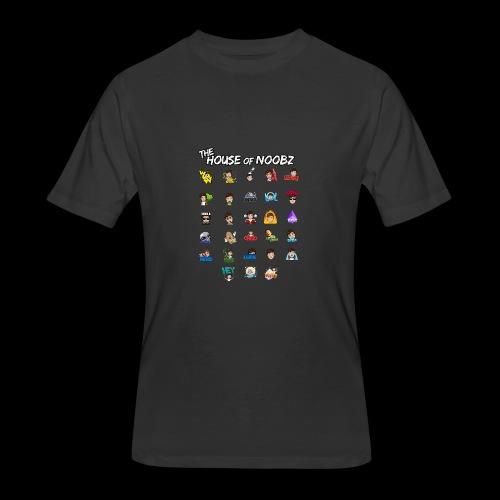 Emote List - Men's 50/50 T-Shirt