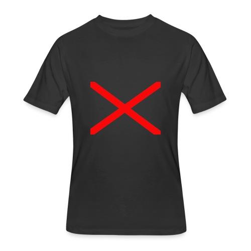 GAMER-X-1ST Youtube LOGO - Men's 50/50 T-Shirt