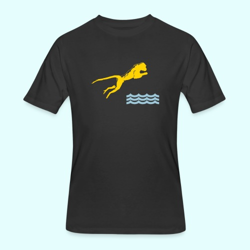 Diving Monkey - Men's 50/50 T-Shirt