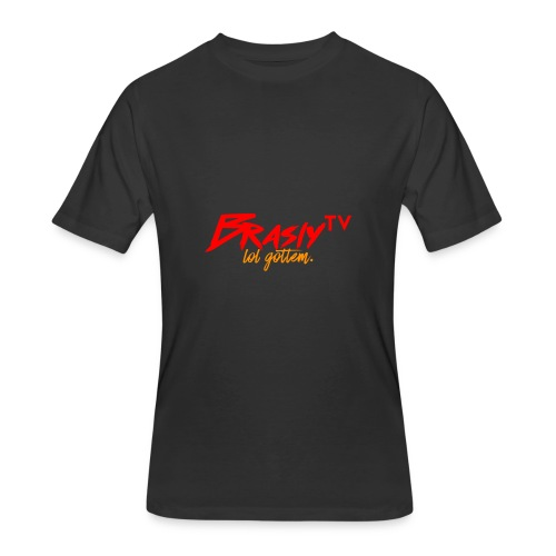 BraslyTV Word Logo - Men's 50/50 T-Shirt