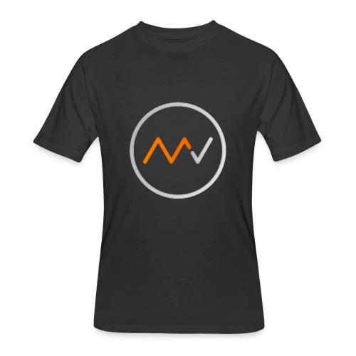 Logo 1 Circle No Name - Men's 50/50 T-Shirt