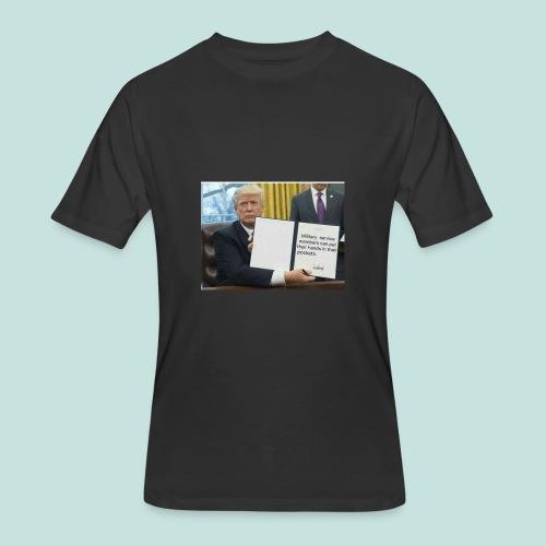 Trump said so - Men's 50/50 T-Shirt