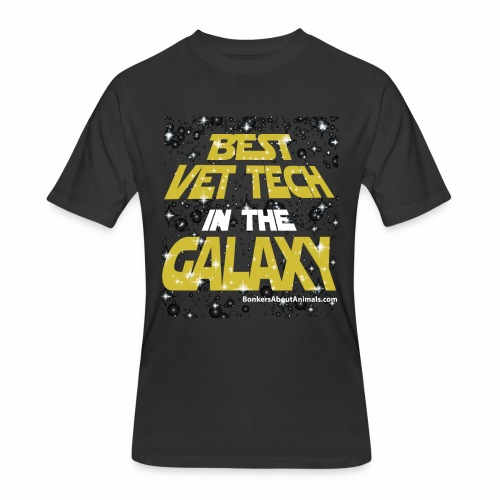 Best Vet Tech in the Galaxy - T-Shirt - Men's 50/50 T-Shirt