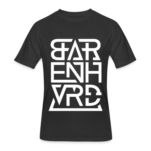 BARENHVRD LOGO 2016 V - Men's 50/50 T-Shirt