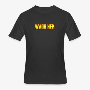 WADU HEK SHIRT TEXT - Men's 50/50 T-Shirt
