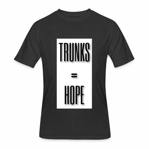 TRUNKS=HOPE - Men's 50/50 T-Shirt