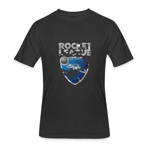Rocket League Grunge T-Shirt - Men's 50/50 T-Shirt