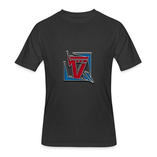 Voltage Logo MensT-shirt - Men's 50/50 T-Shirt