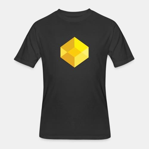 Classic Visual Cube - Men's 50/50 T-Shirt