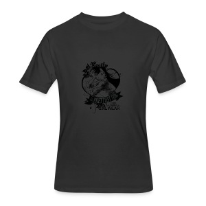 A SMILE is the prettiest thing-Ran Mori - Men's 50/50 T-Shirt