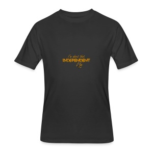 The Independent Life Gear - Men's 50/50 T-Shirt