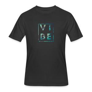 Palm Tree Vibe - Men's 50/50 T-Shirt