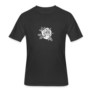 RUIN FLOWER TEE - Men's 50/50 T-Shirt
