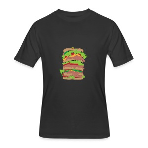 The Dagwood - Men's 50/50 T-Shirt