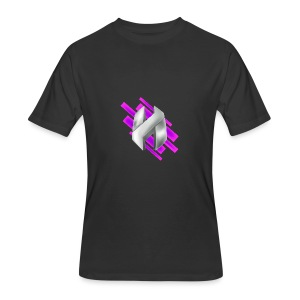 Abstract Purple - Men's 50/50 T-Shirt