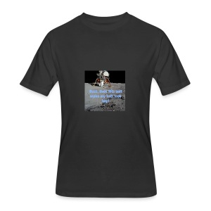 Does this Spacesuit make my butt look big? - Men's 50/50 T-Shirt