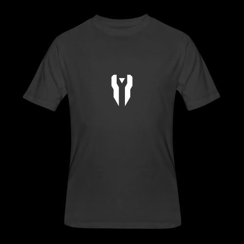 Divided Time Logo - White - Men's 50/50 T-Shirt