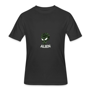 Military Alien - Men's 50/50 T-Shirt